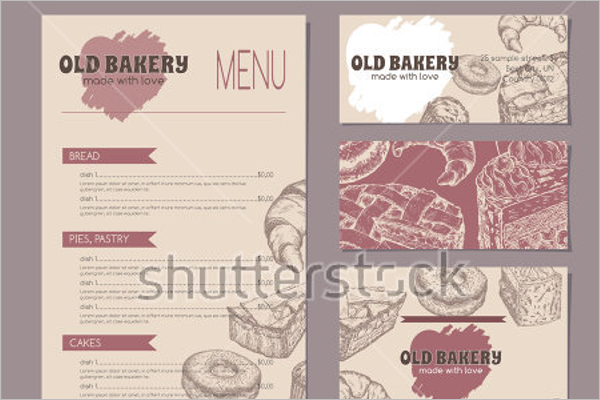 30 Bakery Menu Templates Free Designs Ideas Samples