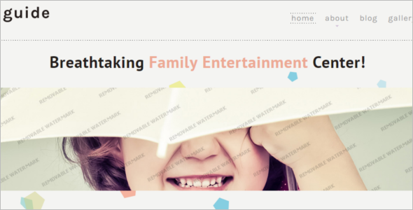 Royal Family Website Template