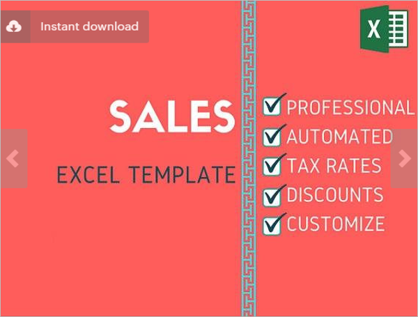 Sales Analysis Excel Template