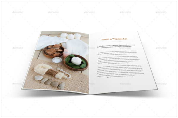 spa menu templates free design ideas creativetemplate