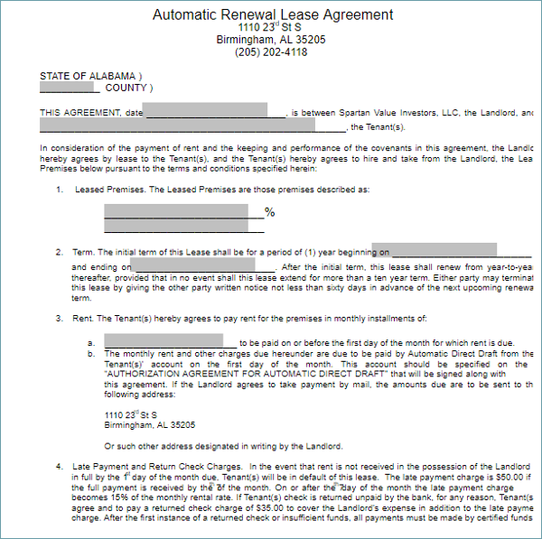 Vehicle Lease Agreement Templates Free Samples Examples