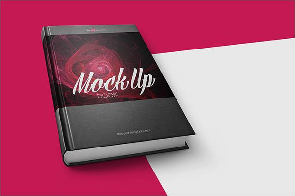 Sample Book Mockup Template