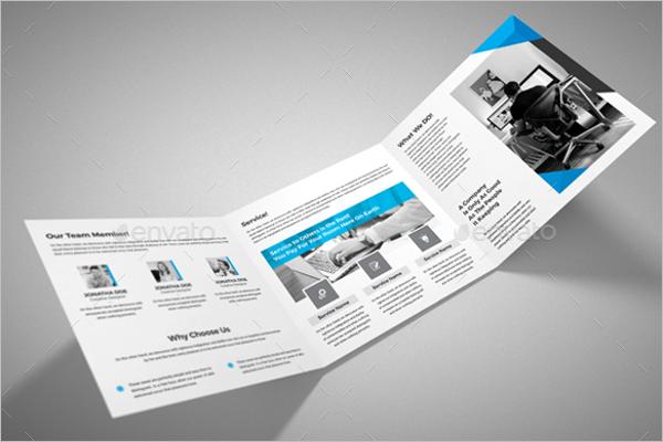 Sample Business Brochure Template