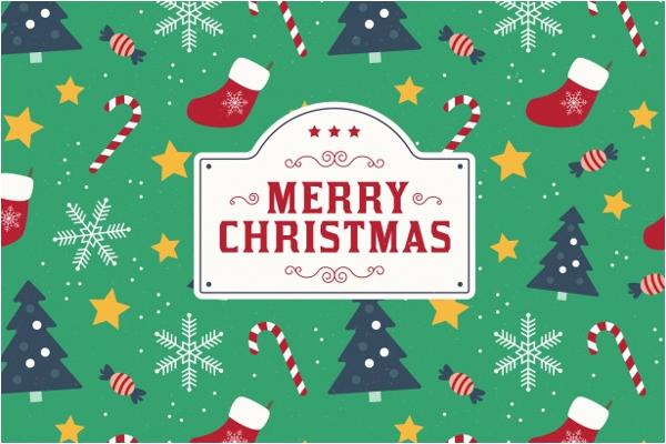 Sample Christmas Background Design