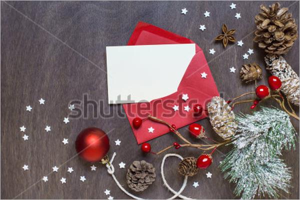 Sample Christmas Envelope Design