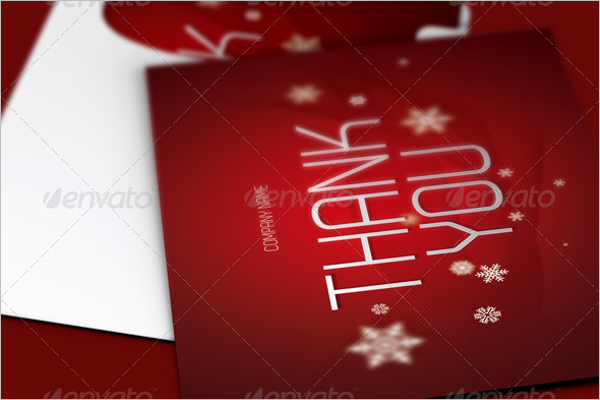 Sample Christmas Thank You Notes