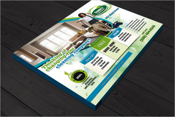 Sample Cleaning Flyer Template