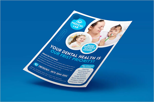Sample Dental Flyer Template