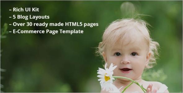Sample Family Website Template