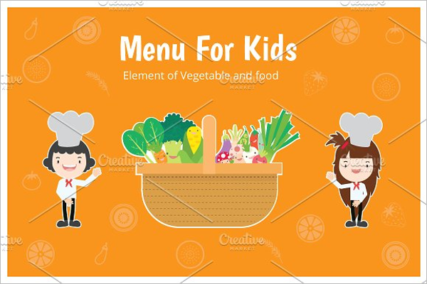 Sample Menu for Kids