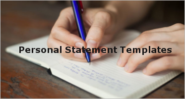 Sample Personal Statement Templates