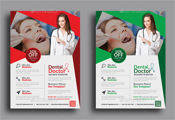 Sample flyer For Dental Clinic