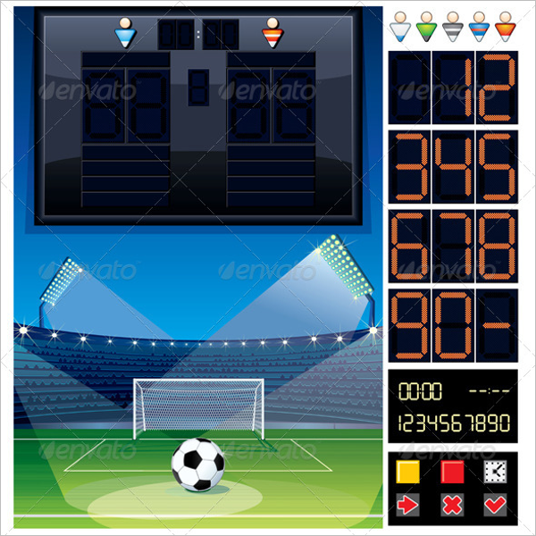 Scoreboard Template Word