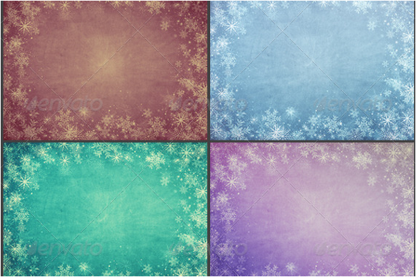 Set of Christmas Background Design