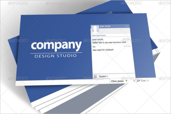 Set of Networking Business Card Template