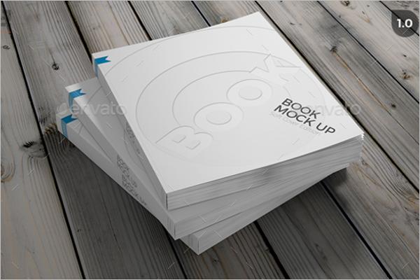 Simple Book Mockup Design