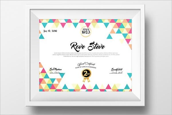 Simple Experience Certificate Template