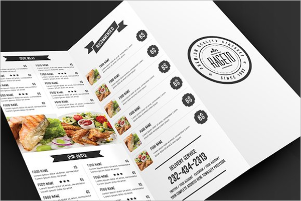 Banquet Menu Template | 30 Catering Menu Templates Free Design Sample Ideas