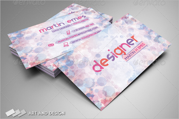 Simple Photoshop Buisness Card Template