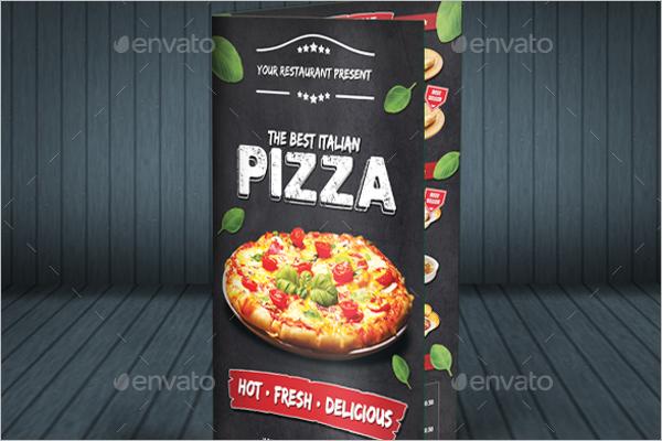 Simple Pizza Menu Template