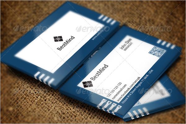 Simple Visiting Card Design
