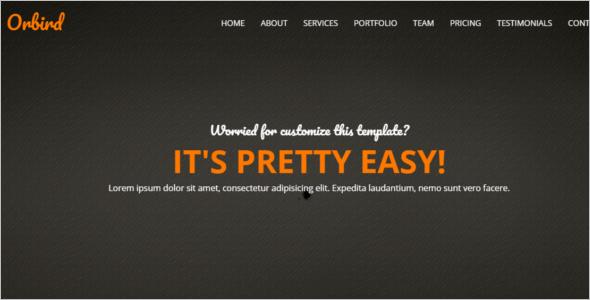 Single Page Website Theme Free