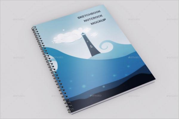 Sketchbook Printable Template