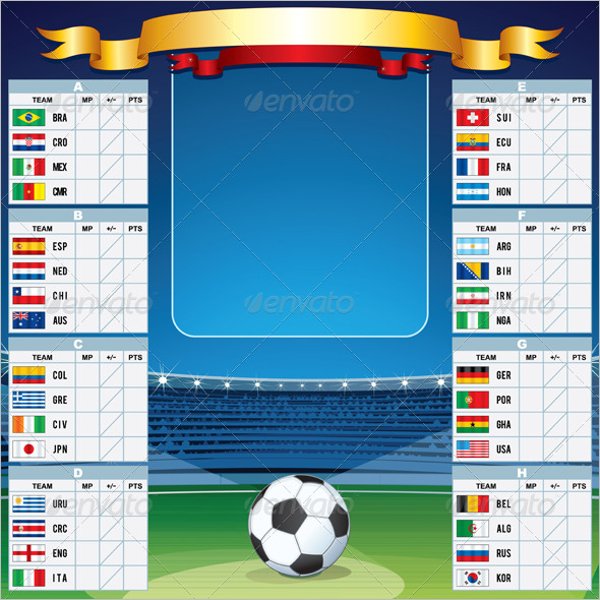 Soccer Background HTML Template