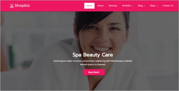 Spa Beauty Ecommerce WordPress Theme