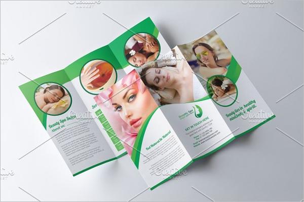 Spa & Beauty Menu Design
