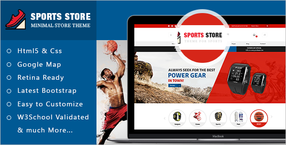 Sport Store ECommerce Template