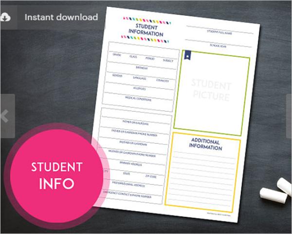 Student Attendance Sheet Excel
