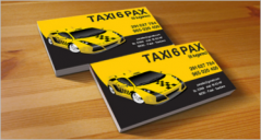 Taxi Business Card Templates