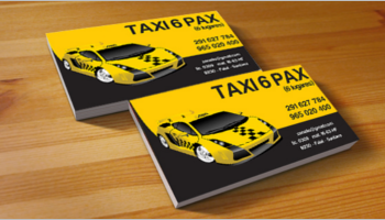 Taxi Business Card Templates