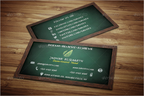 Teacher business card choice image business card template 15 teacher business card templates free psd designs teacher business card design colourmoves fbccfo Images