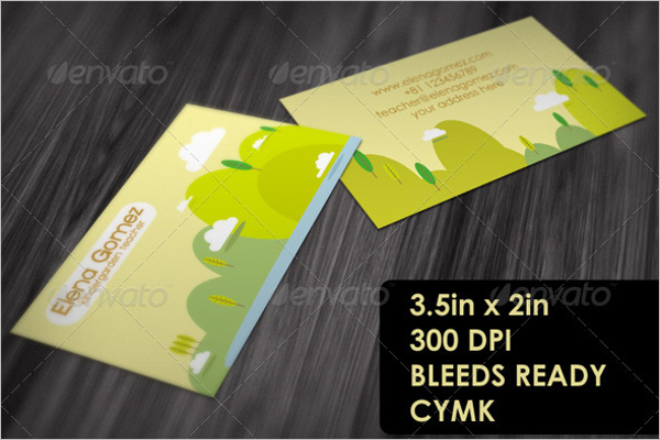 Business Cards For Teachers What To Include Choice Image Card - Business cards for teachers templates free