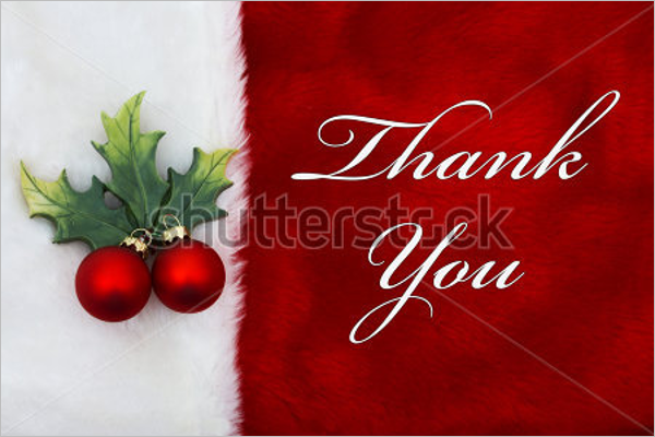 Thank You Note For Christmas Gift