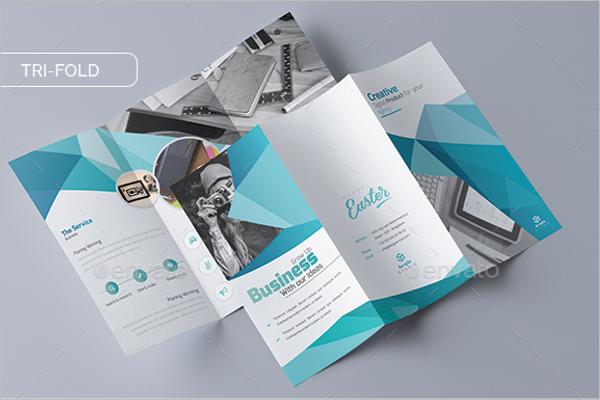 Tri-Fold InDesign Brochure Template