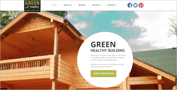 Under Construction Website Template