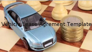 Vehicle Lease Agreement Templates