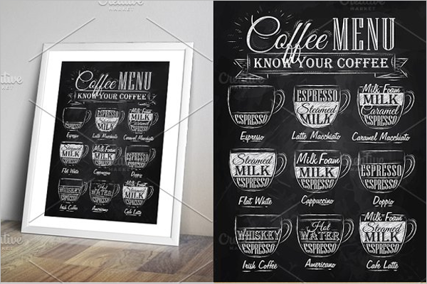 Vintage Coffee Menu Template