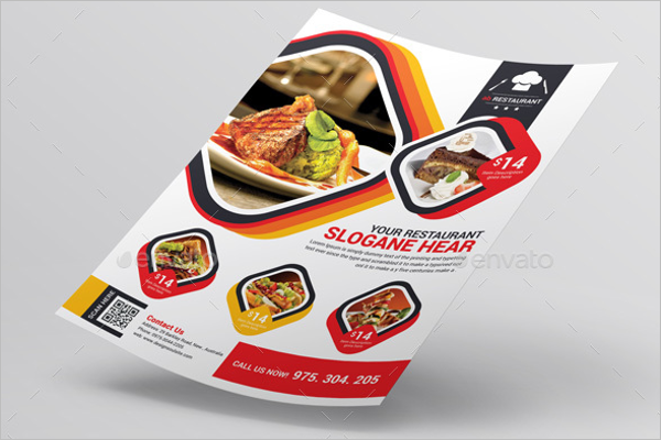 Vintage Lunch Flyer Template