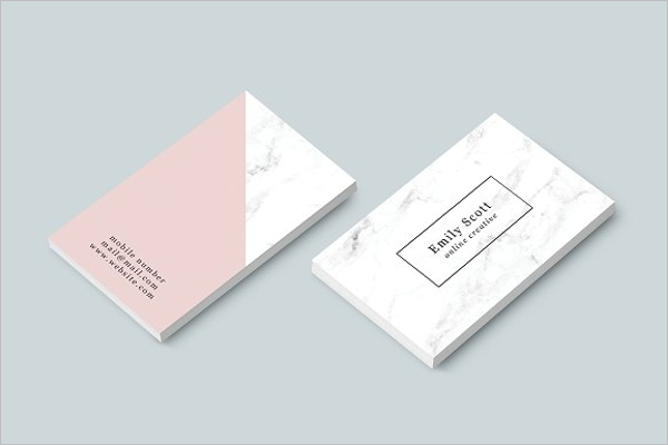 Visiting Card Background Design