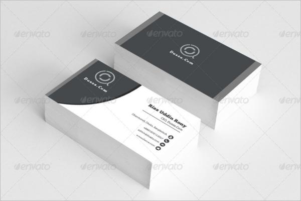 Visiting Card Design Sample