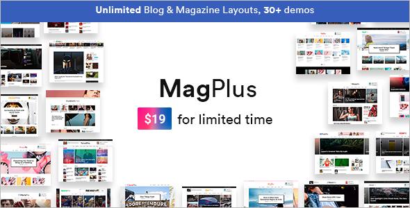 Website WordPress Blog Theme