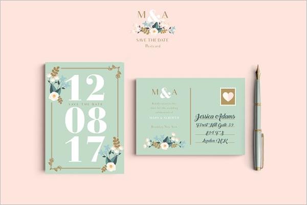 Wedding Menu Templates for Mac