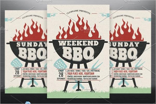 Weekend BBQ Food Design