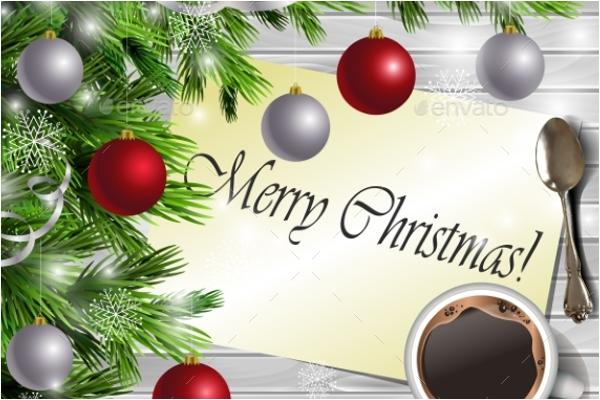 White Christmas Background Design