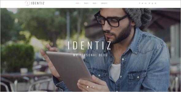Wix Blog Website Template