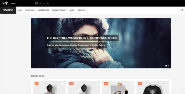 WordPress Shopping Theme Free Download